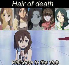 hair of death