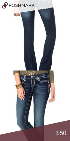 Miss Me Jeans http://www.missme.com/products/loose-saddle-stitch-border-boot-cut-jeans Miss Me Jeans Boot Cut