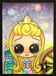 Sugar Fueled Aurora Sleeping Beauty Spinning wheel Birthday Cake Princess…