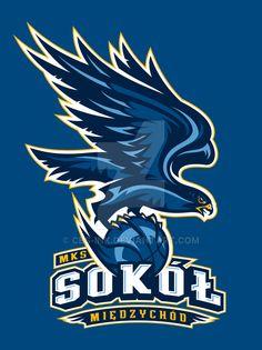MKS Sokol Logo by CBS-Ink.deviantart.com on @DeviantArt