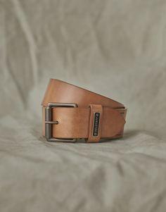 Cintura sottile pelle Fibbia semplice barb squadrati Cintura fine donna