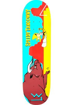 L.E.-Skateboards Tancowny-Speedy, Deck, multicolored Titus Titus Skateshop #Deck…