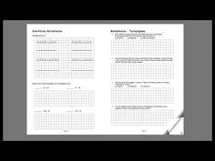Mathestunde 4 - Mathematikübungsheft