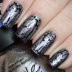 Nicole by OPI Texture Silver | #EssentialBeautySwatches | BeautyBay.com