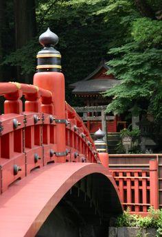 Shinkyo Bridge, Nikko.