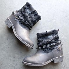 """Details Style: Ankle Boots Heel Height: 2-1/2"""" hidden wedge, 1"""" exposed heel Platform Height: 1/2"""" Shaft Height: 6"""" Ankle Circumference: 11"""" Upper: Leather and"""