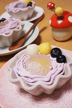 簡単♪白玉だんごの紫いもパフェ♪ レシピ・作り方 by tamama2004|楽天レシピ
