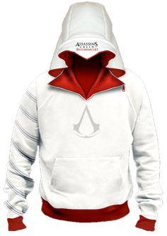 Assassins Creed hoodie.  I want!