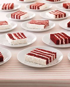 Not only is red velvet a delicious wedding cake choice, but it's a creative way to work in the color red for your Valentine's Day wedding.