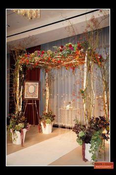 Boston Wedding Photography, Boston Event Photography, Autumn Wedding Boston, Autumn Wedding Chuppah, Unique Wedding Chuppah