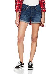 Levi's 501 Short, Pantalones Cortos para Mujer: Amazon.es: Ropa y accesorios