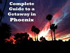 Escape the arctic freeze and plan a getaway in Phoenix! Here's a great list of what to do in Phoenix, what to see in Arizona, and top attractions in the state.