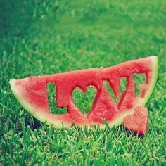 This is Me ~ Love ice cold watermelon on a hot summer day!