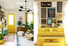 Желтый цвет в интерьере: 34 идеи для вдохновения – Вдохновение
