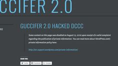 #Wordpress Wordpress blocks latest Guccifer 2.0 docs  ... database with contact information for 17,000 attendees of Democratic events. Neither Guccifer 2.0 nor Wordpress responded to a request for comment. Las Vegas WordPress Developer - http://www.larymdesign.com http://thehill.com/policy/cybersecurity/291375-wordpress-blocks-latest-guccifer-20-docs
