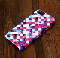 Abstract Mosaic Geometric Print iPhone 6s 6 Case/Plus/5S/5C/5 Dual Layer Durable Tough Case #298 - Acyc - 1