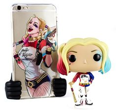 Harley Quinn iPhone case and Funko Pop available now at toythug.com