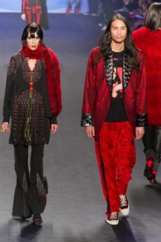 Anna Sui Fall 2014-15 Collection
