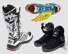 pretty nice 69a10 bd2b4 Crazy Kicks for Adidas by Jeremy Scott for 2012 Spring, Summer, Fall    Winter