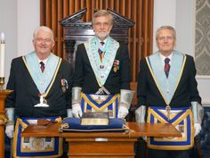 Worshipful Master and his Wardens - March 2014