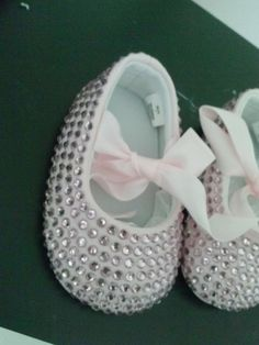 baby bling shoes by DesignsbyKendraruiz on Etsy