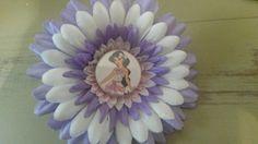 Jasmine flower clip