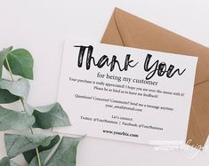 business editable purchase instant thank cards etsy you pdf INSTANT Business Thank You Cards Editable PDF Purchase Thank EtsyYou can find Packaging ideas business and more on our website Business Thank You Notes, Customer Thank You Note, Thank You Card Design, Bussiness Card, Thanks Card, Etsy Business, Online Business, Business Stamps, Business Stickers