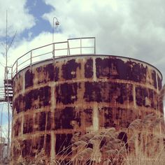 Old water tower upstate NY.