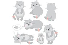 Cats by LoveGraphicDesign on Creative Market
