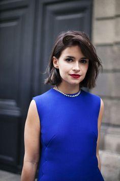 Miroslava @ Paris Haute Couture Fall 2013