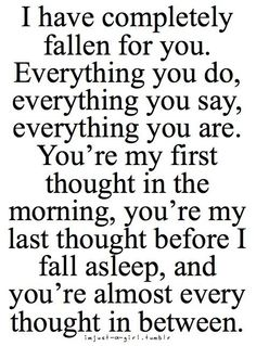 You are my everything Katie.  You are all I want in my life.  You are the most special person in my life.
