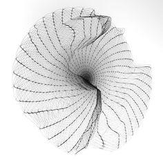Whitney Rose Splines. #houdinifx #generativedesign #generativeart #computationalart #codedart #houdini #d #aftereffects #cinema #cgi #maya #render #c #redshift #motiongraphics #vfx #design #blender #mdcommunity #motiondesign #sidefx #digitalart #houdinifx #animation #mgcollective #motion #art #cg #mograph #sidefxhoudini Generative Art, Motion Design, Cgi, Motion Graphics, Maya, Bean Bag Chair, Digital Art, Cinema, Animation