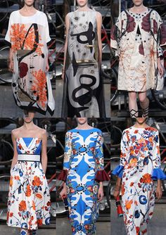 Milan Womenswear Print Highlights Part 1 – Spring/Summer 2015 catwalks
