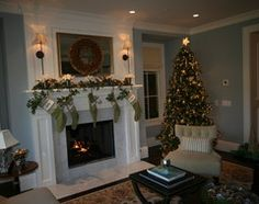 Atherton Holiday House Tour traditional living room