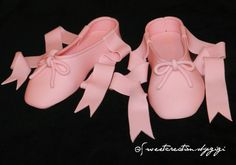 Items similar to Pink Ballerina Shoes Ballet Pointe Edible Cake Topper on Etsy Ballerina Shoes, Ballet Shoes, Dance Shoes, Ballerina Baby Showers, Fondant Cake Toppers, Sandals, Trending Outfits, Unique Jewelry, Handmade Gifts