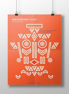 Koncepcja plakatu na Malta Festiwal w Poznaniu.Tematem przewodnim festiwalu była Ameryka Łacińska.