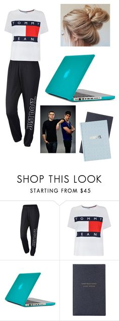 """""""Scott and Stiles"""" by kendall-bostic ❤ liked on Polyvore featuring NIKE, Tommy Hilfiger, Speck and Smythson"""