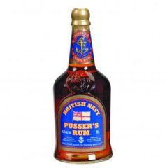 Pusser's Rum.....great stuff, taste more like a bourbon than a rum!