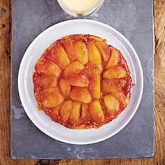 Apple tarte tatin with crème anglaise recipe, from 'Masterchef: The Finalists'