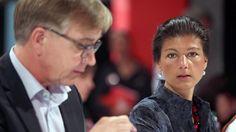 Fraktionsduo brüskiert Partei: Linke streiten über Spitzenkandidatur