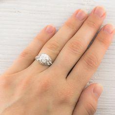 2.03 Carat Vintage Engagement Ring, circa 1910