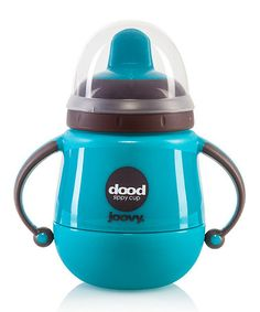 http://www.zulily.com/invite/cassinelli01779 Love this Turquoise Dood 7-Oz. Insulated Training Cup by Joovy on #zulily! #zulilyfinds