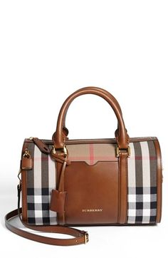 Hello Dream Bag... Too bad I won't have enough money to ever get you. Burberry 'Alchester - Medium' Satchel available at #Nordstrom