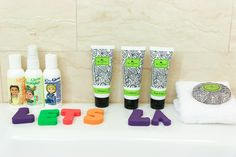 Luxe bath amenities at Four Seasons Hotel Las Vegas via @lajollamom