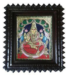 Lakshmi #tanjore #painting shop online at #craftshopsindia