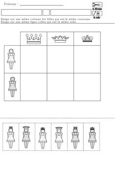 TABLEAU DOUBLE ENTREE sur le thème de l'épiphanie en maternelle GS et MS Chateau Moyen Age, Sugar Detox Plan, Kings Day, Jack And The Beanstalk, Logic Puzzles, Prince And Princess, Teaching Math, Middle Ages, Worksheets