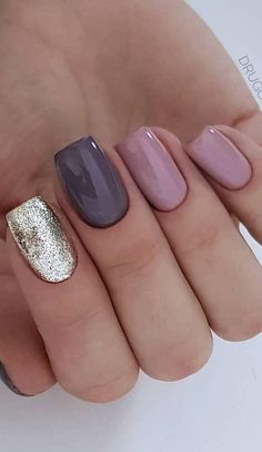 1 Set Shiny Laser Glitter Nail Powder Chrome Pigment Dust Mixed Starry Holographic Color Polish Nail Art Decoration Manicure SAL – Cute Pins For You :) Shiny Nails, Glitter Nails, Chrome Nails, Cute Nails, Pretty Nails, Hair And Nails, My Nails, Nagellack Design, Nagel Gel