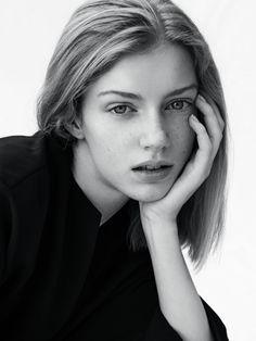 Anna Pilblad - lemanagement Le Management, Model Test, Aarhus, Blue Hair, Stockholm, Copenhagen, Anna