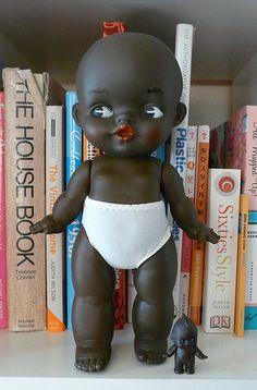 Okay I want a black kewpie doll like yesterday!
