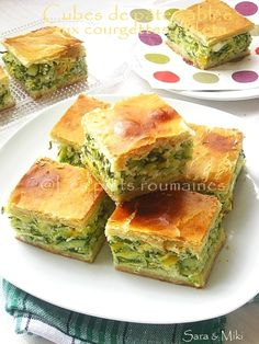Romanian Food, Spanakopita, Cubes, Feta, Good Food, Food And Drink, Healthy Recipes, Ethnic Recipes, Quiches